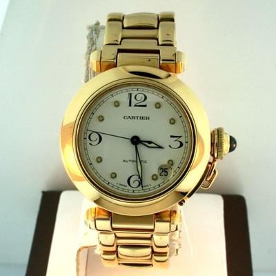 Cartier Pasha W30134H9 Midsize Watch
