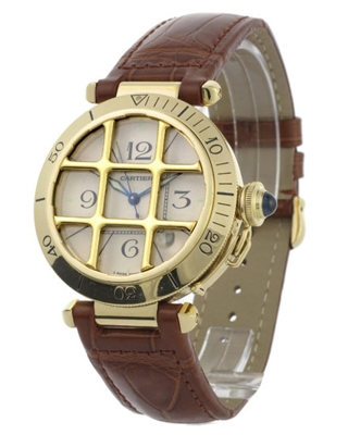 Cartier Pasha W3019551 Mens Watch
