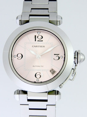 Cartier Pasha W31075M7 Mens Watch
