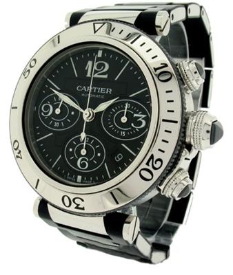 Cartier Pasha W31088U2 Mens Watch