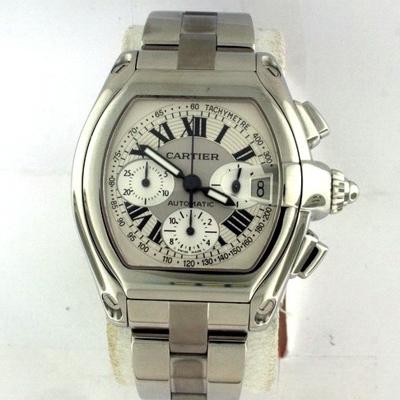 Cartier Roadster W62019X6 Silver Dial Watch