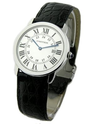 Cartier Ronde Solo W6700255 Mens Watch