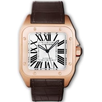 Cartier Santos 100 W20095Y1 Mens Watch