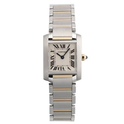 Cartier Tank Francaise W51007Q4 Ladies Watch