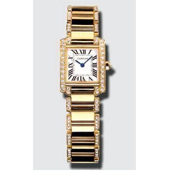 Cartier Tank Francaise WE1001RG Ladies Watch