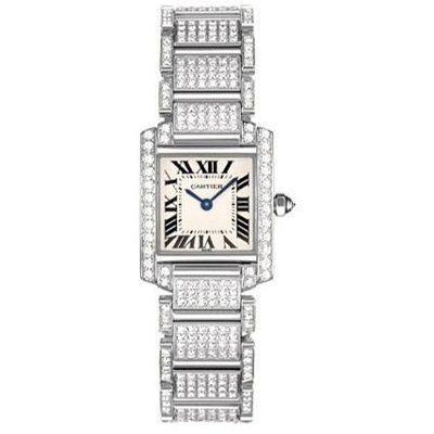 Cartier Tank Francaise WE1002SD Ladies Watch