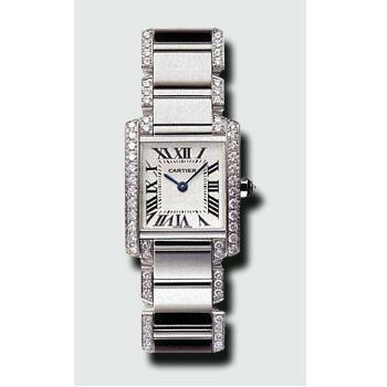 Cartier Tank Francaise WE1002SF Ladies Watch