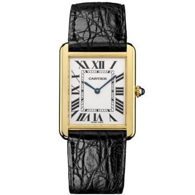 Cartier Tank Solo W1018855 Mens Watch