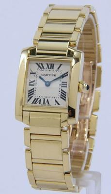 Cartier Tank W50002N2 Mens Watch