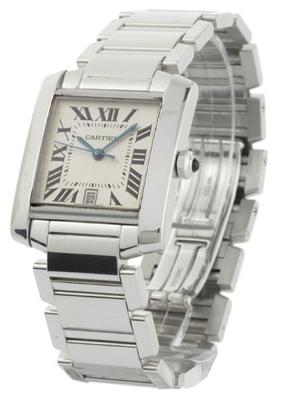 Cartier Tank W50011S3 Mens Watch