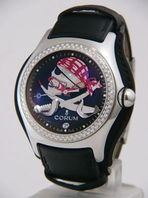 Corum Bubble XL 082-157-47-F701 PIRR Mens Watch