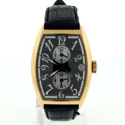 Franck Muller Master Banker 5850 MB Leather Band Watch