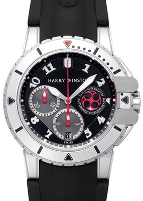 Harry Winston Project Z2 Diver 410-MCA44WZC-K Mens Watch