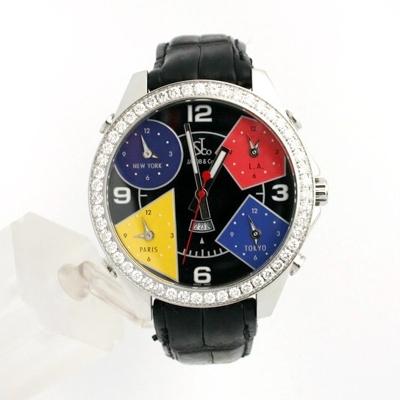 Jacob & Co. Five Time Zone - Large JC-11 Quartz Watch
