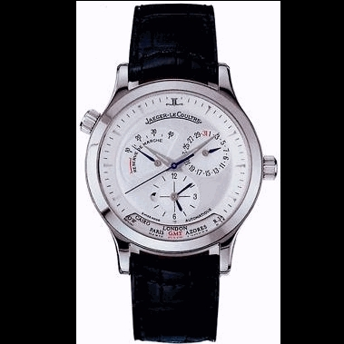 Jaeger LeCoultre Master Geographic 142.84.20 Mens Watch