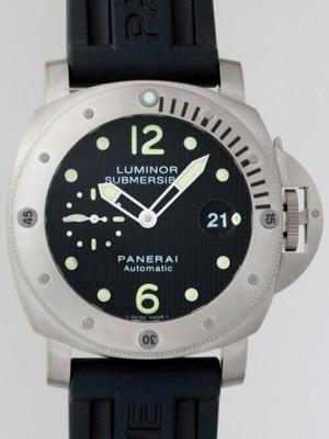 Panerai Luminor Submersible PAM00025 Mens Watch