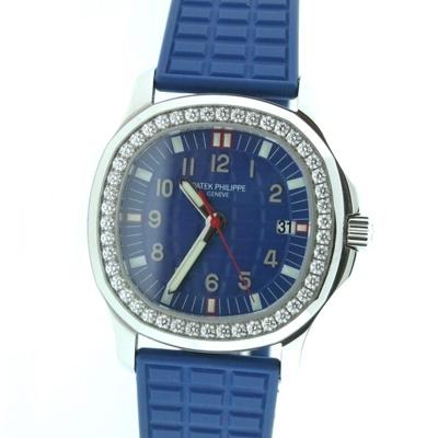 Patek Philippe Aquanaut 5067A Blue Dial Watch