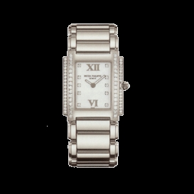Patek Philippe Twenty-4 4910/20G Diamond Dial Watch