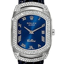 Rolex Cellini 6693.9 Blu Ladies Watch