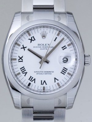 Rolex Date Mens 115200WRO Mens Watch
