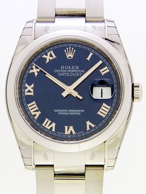 Rolex Datejust Men's 116200BLRO Mens Watch