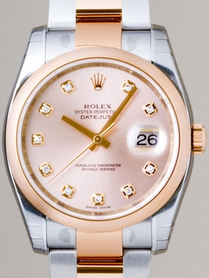 Rolex Datejust Men's 116201 Automatic Watch