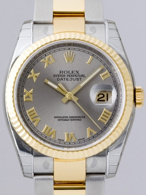 Rolex Datejust Men's 116233 Stainless Steel Band Watch