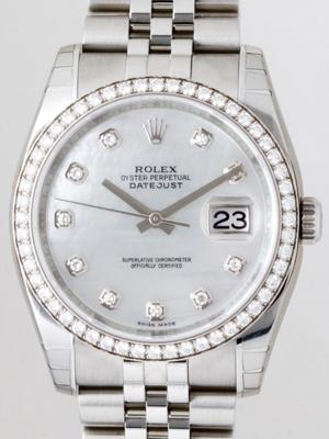 Rolex Datejust Men's 116244 Round Shape Watch