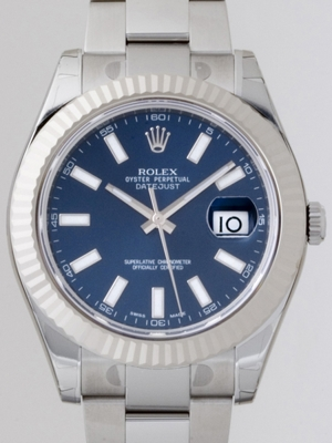 Rolex Datejust Men's 116334BLSO Mens Watch