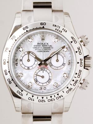 Rolex Daytona 116509 Gold Band Watch