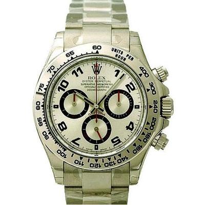Rolex Daytona 116509 Silver Dial Watch