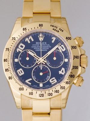 Rolex Daytona 116528 Blue Dial Watch