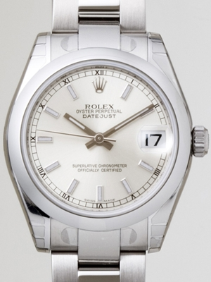 Rolex President Midsize 178240 White Dial Watch
