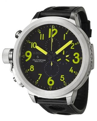 U-Boat Flightdeck 55-CAS-Y Mens Watch