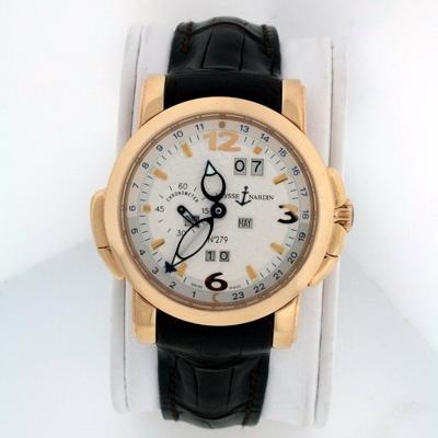 Ulysse Nardin GMT Perpetual 322-66 Mens Watch