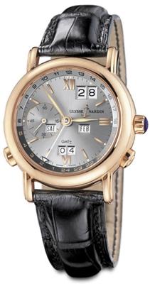 Ulysse Nardin GMT Perpetual 326-22/32 Mens Watch
