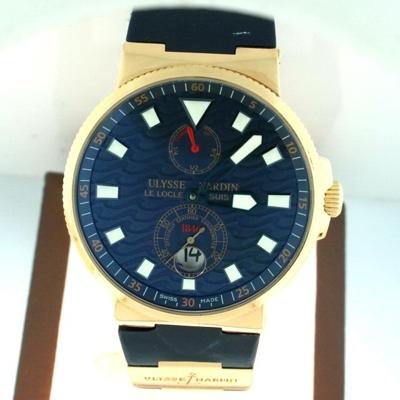 Ulysse Nardin Marine Chronometer 266/68 Mens Watch