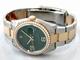 Rolex Datejust Men's 116243 Green Dial Watch