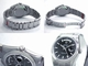Rolex President Men's 118209 White Gold Bezel Watch