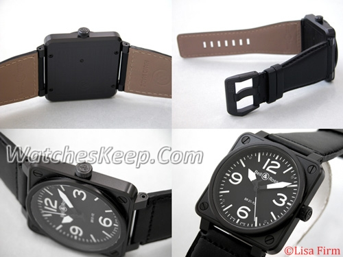 Bell & Ross BR01 BR01-92 CARBON Mens Watch