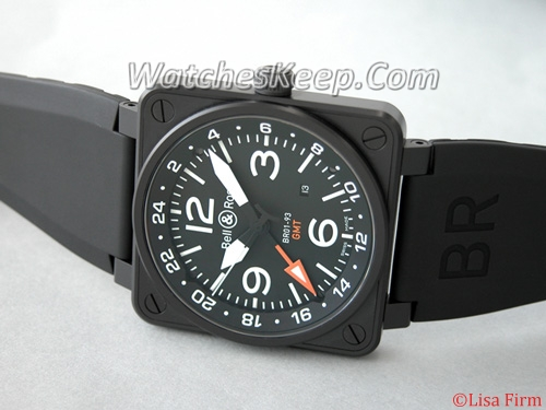Bell & Ross BR01 BR01-93 GMT Mens Watch