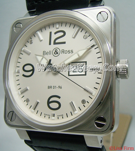 Bell & Ross BR01 BR01-96 MeterDate Mens Watch