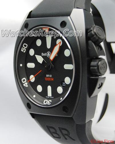 Bell & Ross BR02 BR02-92 PRO Mens Watch