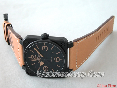 Bell & Ross BR03 BR03-92 HERITAGE SHADOW Mens Watch