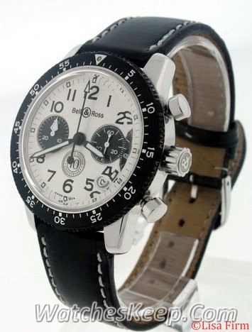 Bell & Ross Classic Pilot Chronograph Automatic Watch