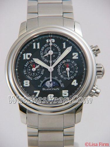 Blancpain Leman 2585f-1130-71 Mens Watch