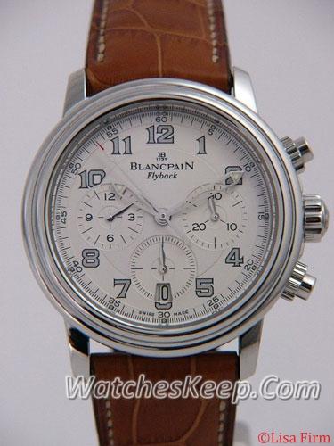 Blancpain Leman Flyback 2185f-1142-53b Mens Watch