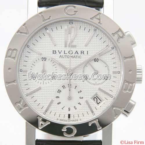 Bvlgari Diagono BB38WSLDCH Mens Watch