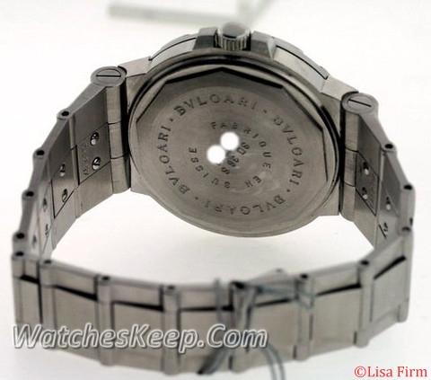 Bvlgari Diagono SD38 S Automatic Watch