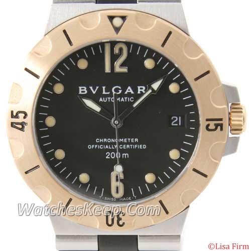 Bvlgari Diagono SD38SGVD Mens Watch